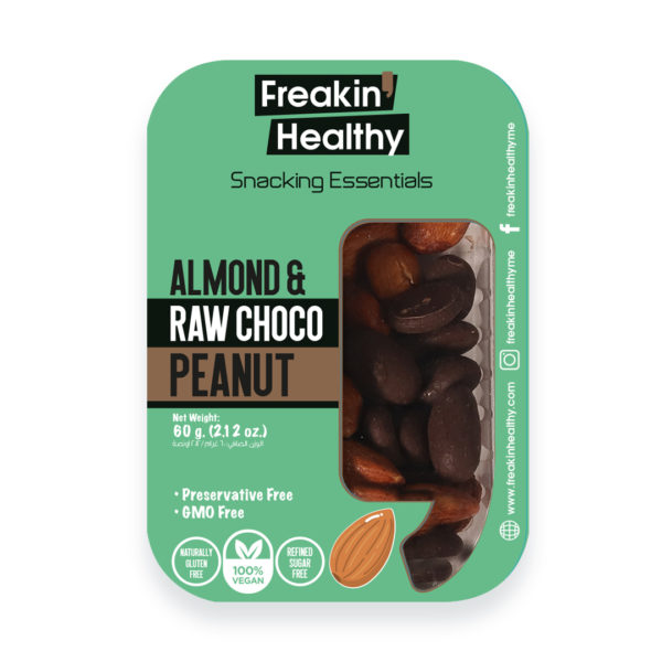 Healthy Snacks; Almond_Raw_Choco_Peanut