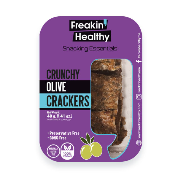 Crunchy Olive Crackers