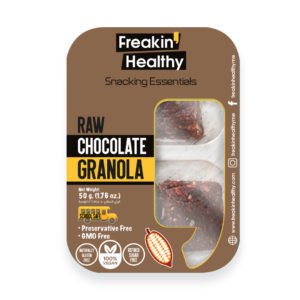 raw chocolate granola bar