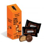 Peanut Butter Protein Ball with the Product