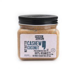 Coconut cashew spread