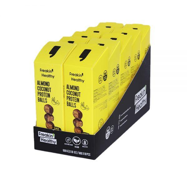 the best almond Protein Balls