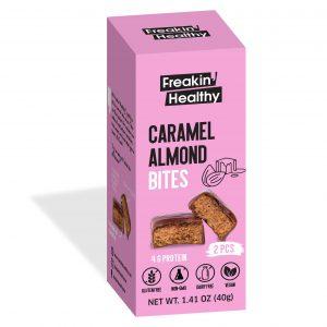 Real Caramel Almond Bites